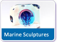 Marine Glass Sculptures